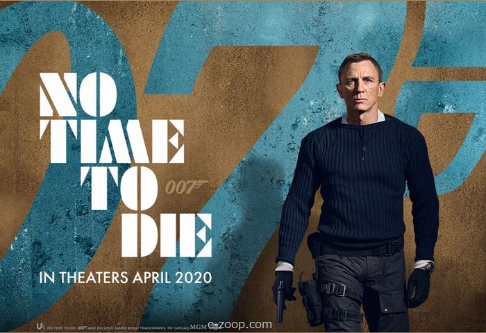 JamesBond em 'No time to Die'